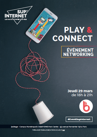 Play & Connect : un événement networking mixant Forum Entr …