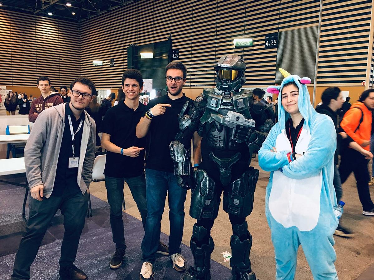 Epitech Lyon participe à la Geek Touch 2019