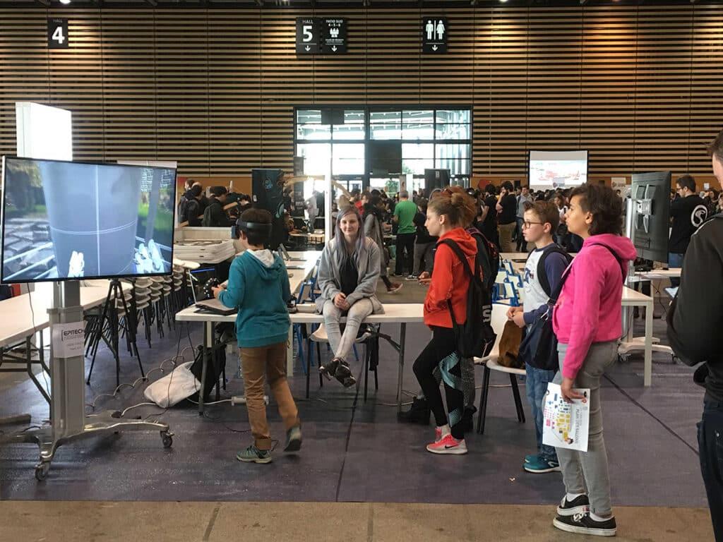 Essayer la réalité virtuelle avec Epitech à la Geek Touche de Lyon 2019
