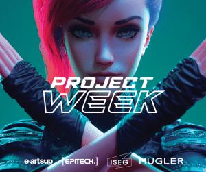 project week 2021 logo Mugler