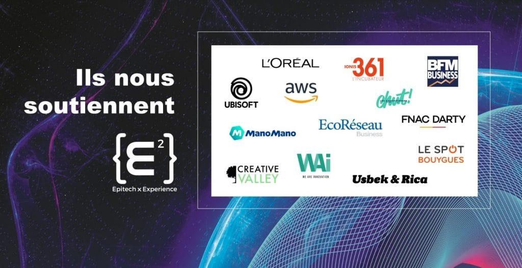 Les partenaires d'Epitech Experience 2021