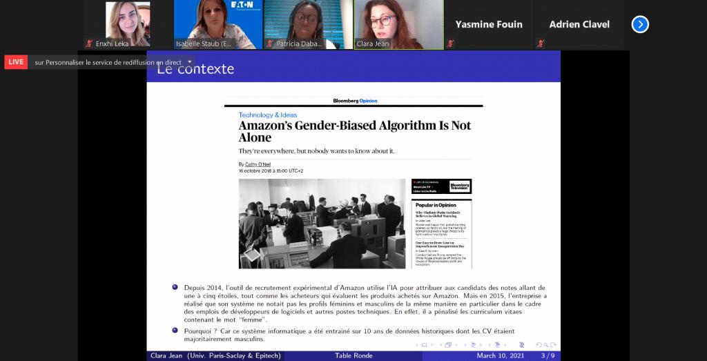 clara jean table ronde sexisme