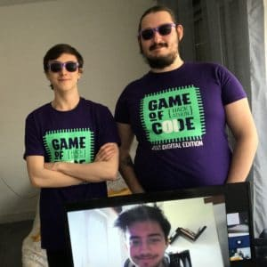 game of code 2021 carré