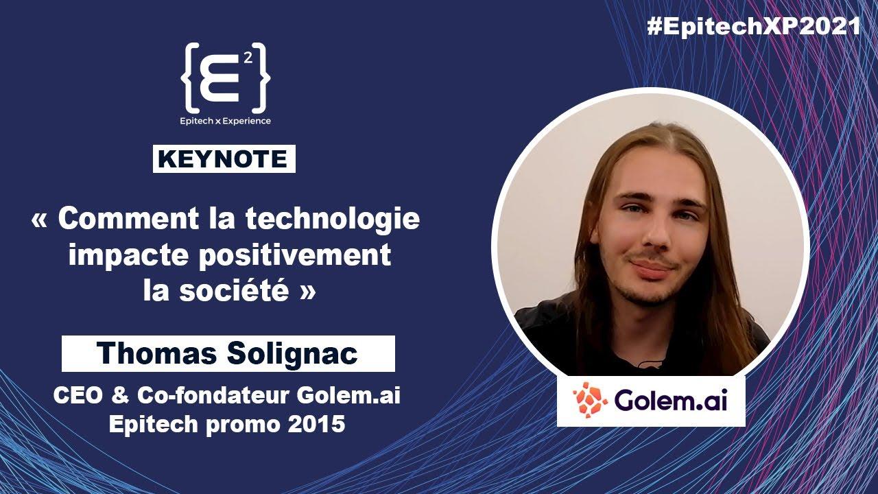 Keynote Thomas Solignac