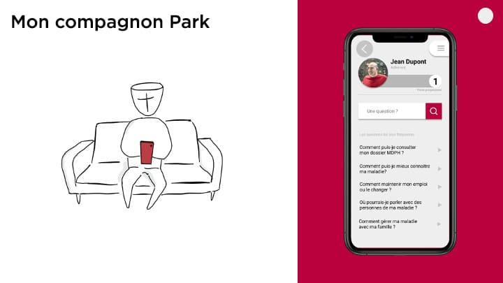 moncompagnonpark hackathon parkinson