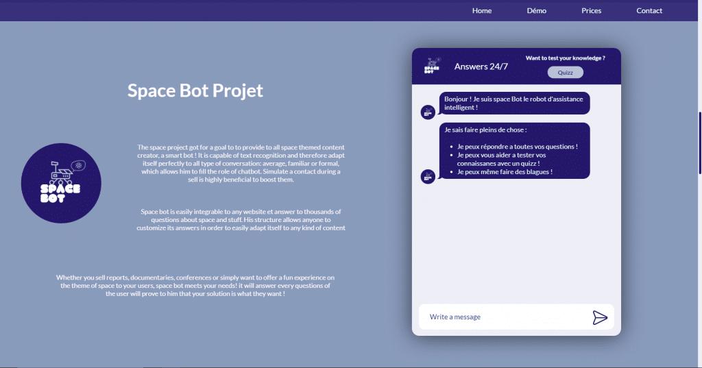 Elisa chatbot demo