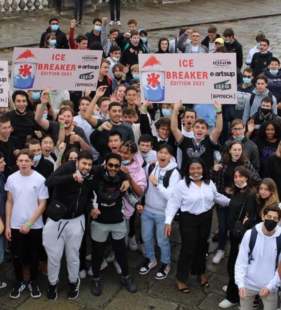 Ice breaker Paris