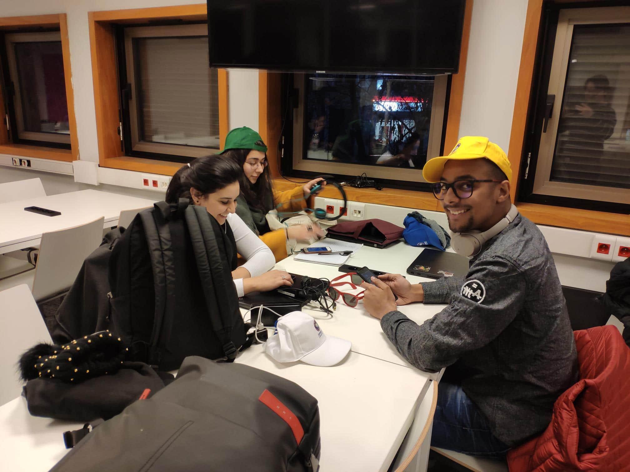 Etudiants particpants à la Global Game Jam à Epitech Paris