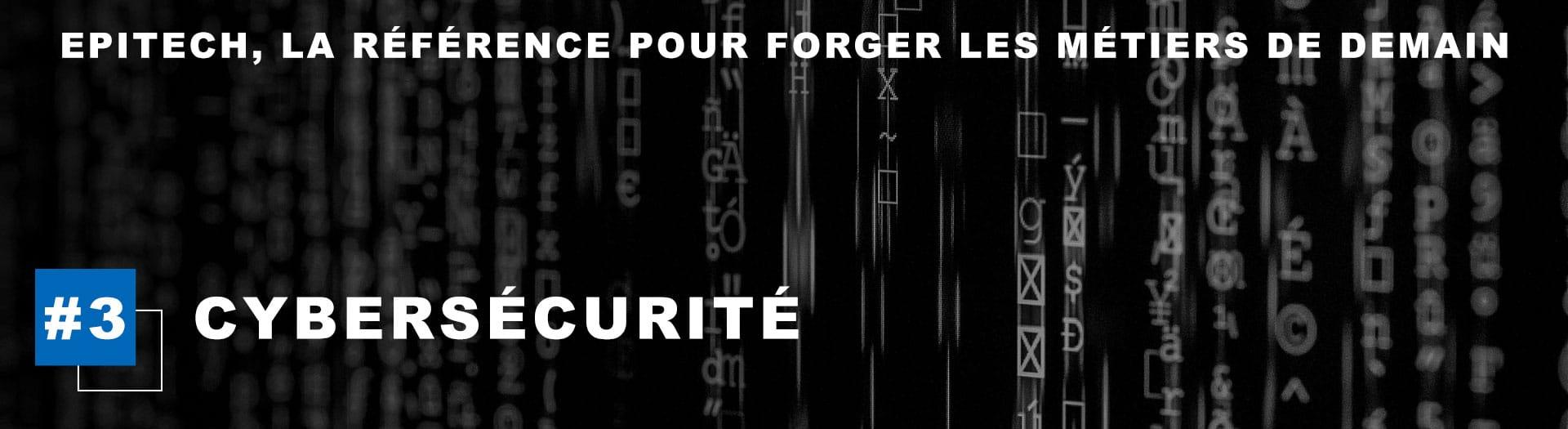 Slide métiers Epitech Cybersécurité