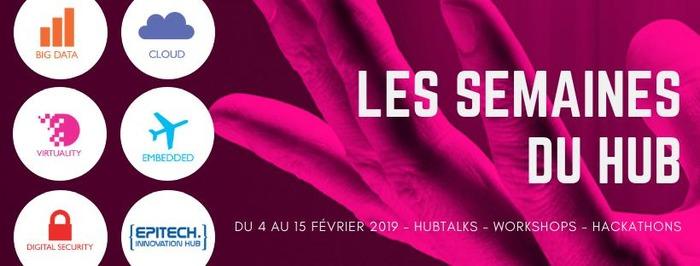 Les semaines du Hub sur les campus Epitech en France