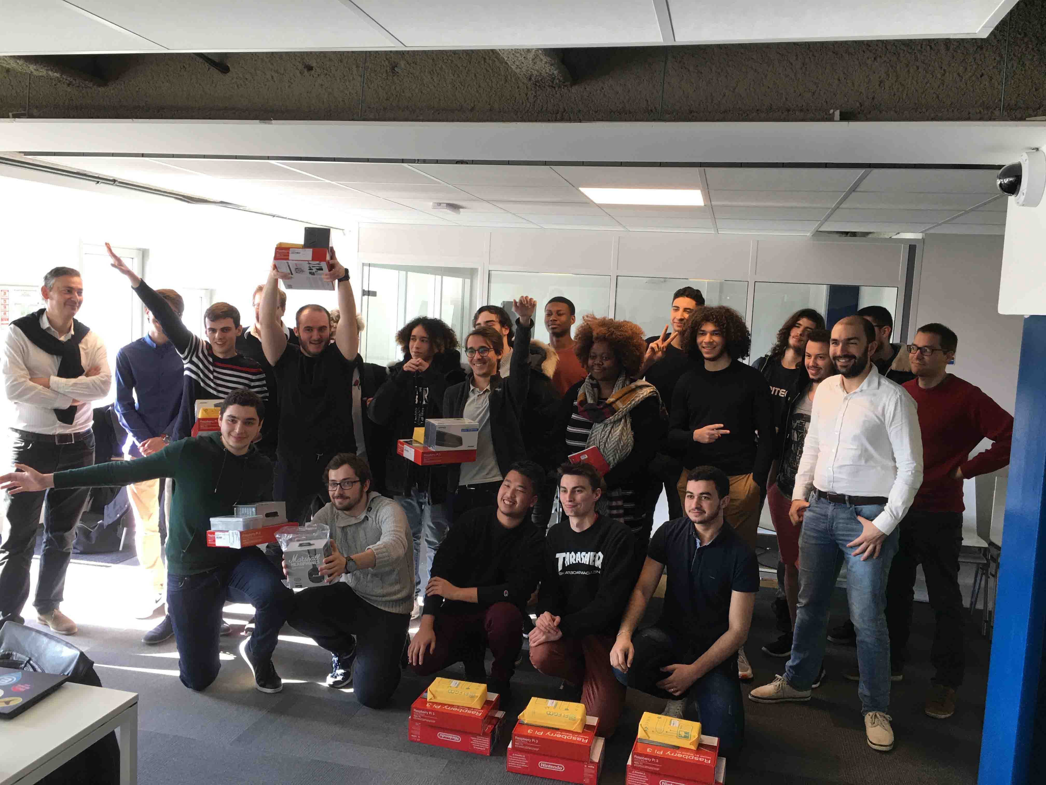 Les Lauréats du Hackathon Arcep Epitech