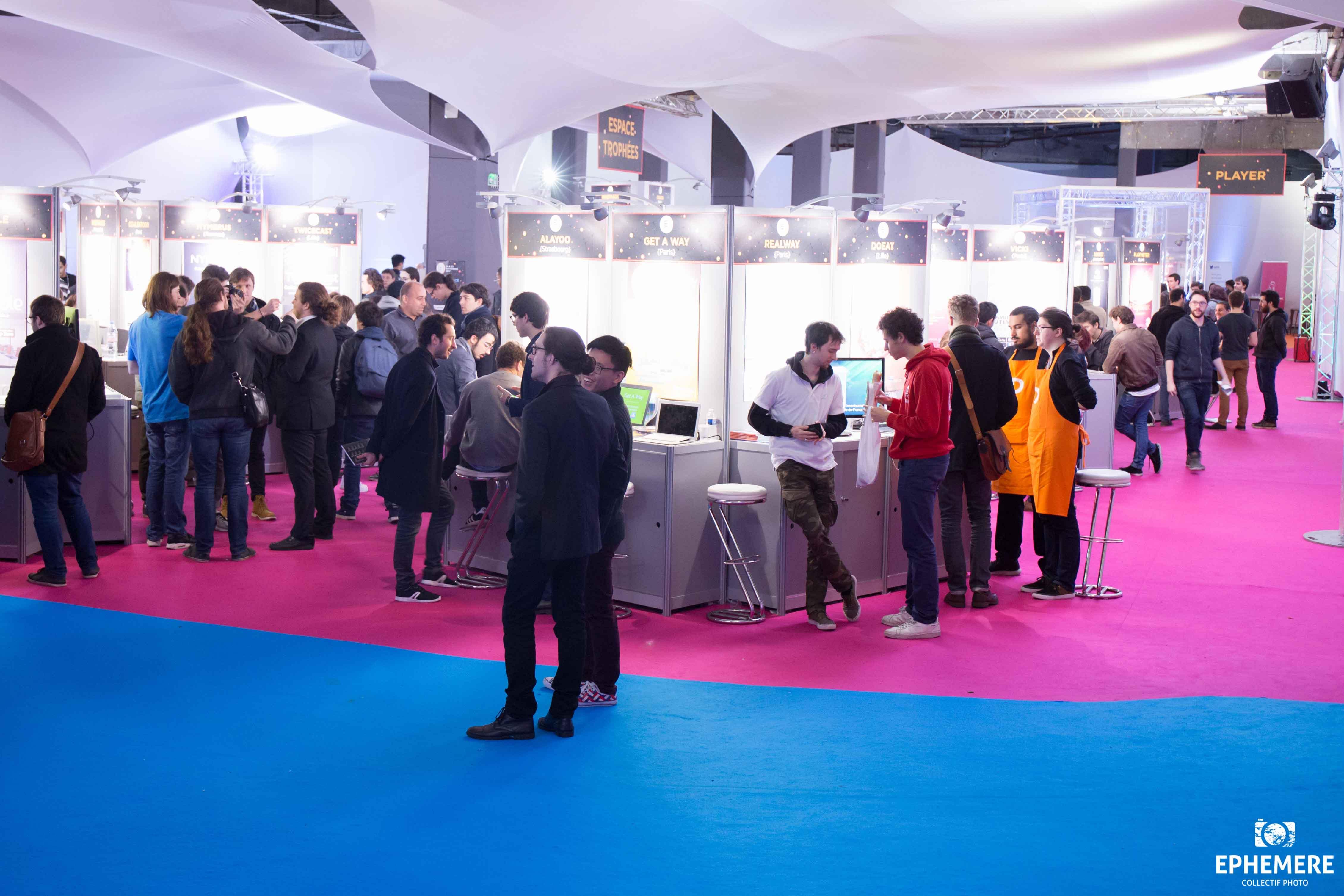 Visiteurs et participants aux trophées EIP 2017
