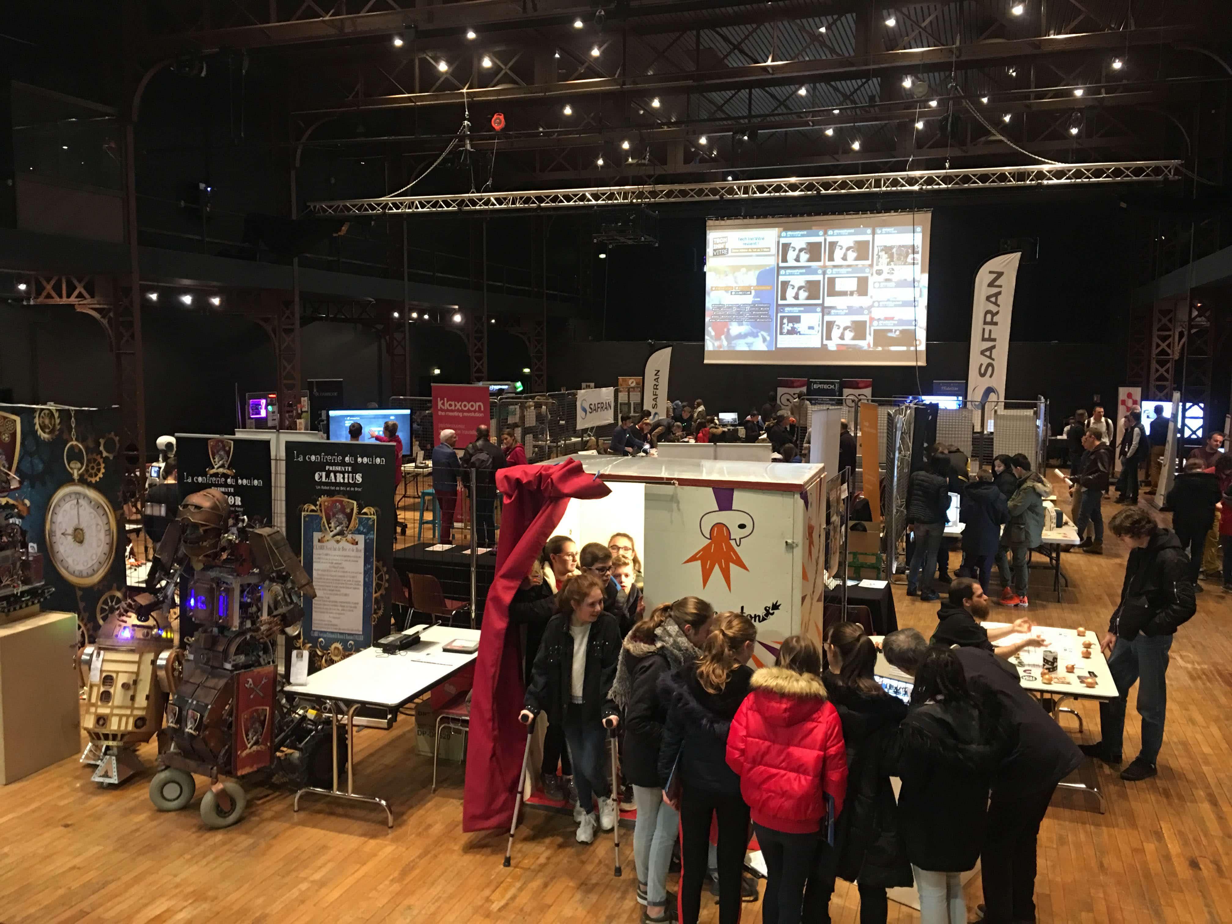 Tech'Inn Vitré : le salon du numérique avec les étudiants d'Epitech Rennes