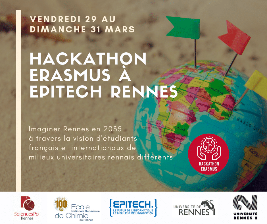 Cover Hackathon Erasmus Rennes
