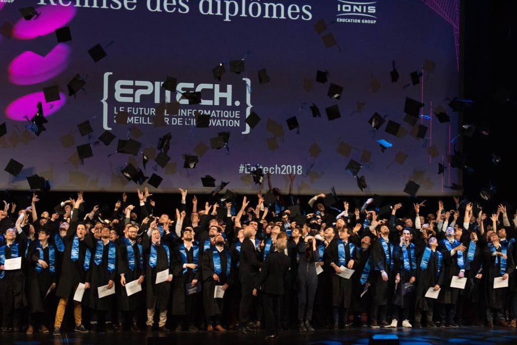 cérémonie remise des titres epitech 2018