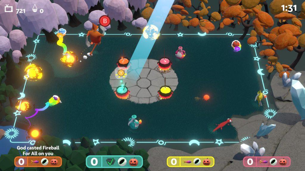 Witchin' Kitchen, le jeu prototypé par l'équipe comportant des étudiants d'Epitech au concours universitaire d'Ubisoft à Montréal