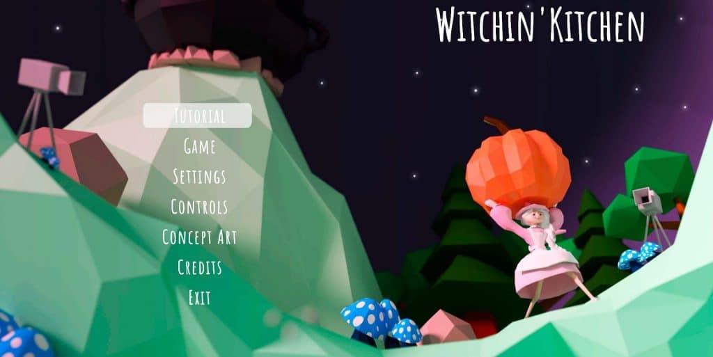 The Witchin' Kitchen's, le jeu qui gagne le prix spécial du jury par les étudiants d'Epitech