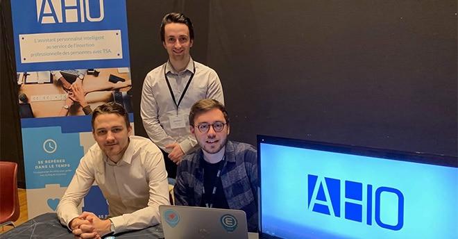 Epitech participe à Viva Technology au Parc des Expositions à Paris, avec le projet AHIO