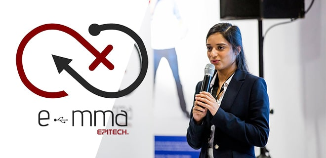 Epitech participe à Viva Technologie 2019 au Parc des Expositions à Paris du 16 au 18 mai 2019, avec l'association E-mma