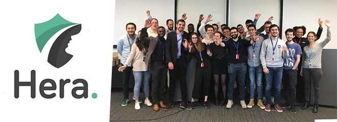Epitech participe à Viva Technologie 2019 au Parc des Expositions à Paris du 16 au 18 mai 2019, avec le projet Héra