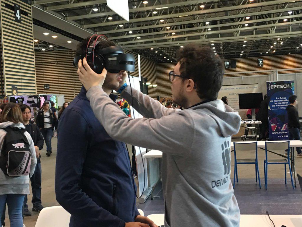Les étudiants d'Epitech Lyon ont participé à la Geek Touch 2019