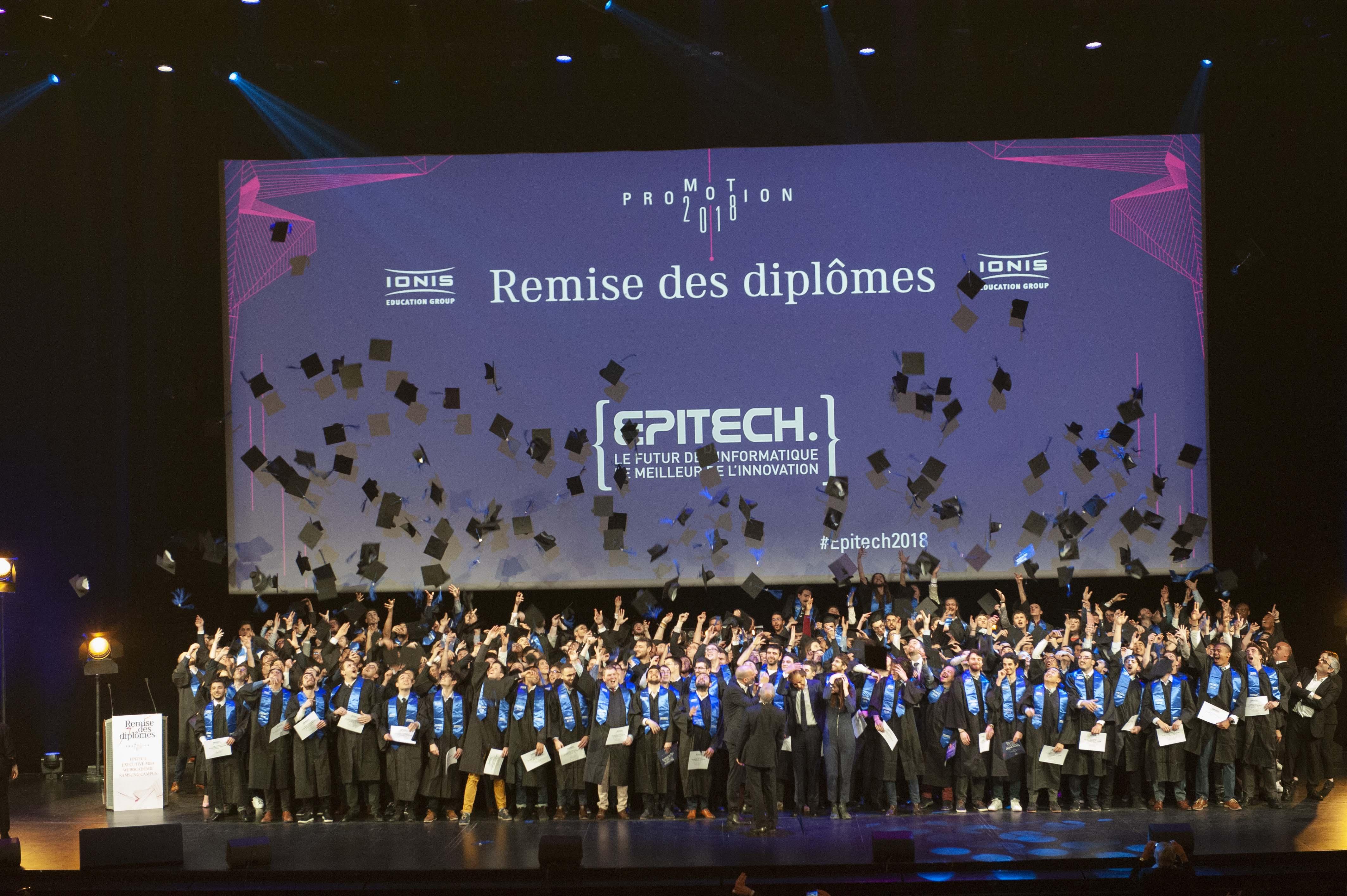 Cérémonie de remise des diplômes d'Expert Informatique - Epitech France